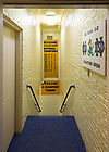 Dec. 11, 2012; Stairs from the locker room to the tunnel in Notre Dame Stadium.<br /> <br /> Photo by Matt Cashore/University of Notre Dame