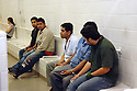 Undocumented Immigrants are waiting to be processed at the Maricopa Sheriff's 4th Street Jail in Phoenix, AZ..Photo by AJ Aexander