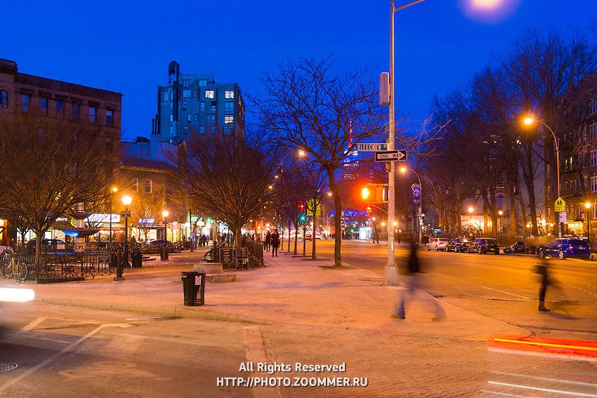 Father Demo Square In Greenwich Village District, New York