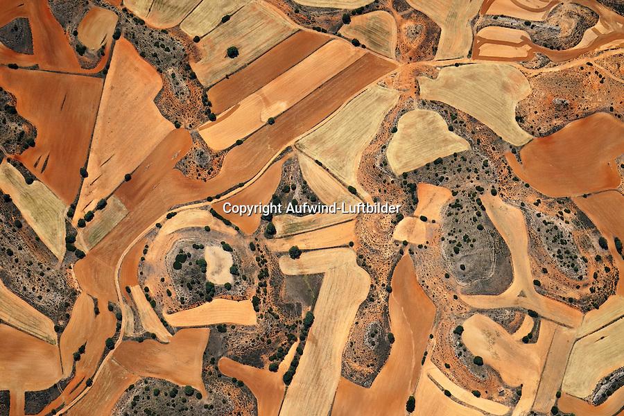 Spanische Landschaft: SPANIEN, KASTILIEN LEON, 07.08.2011: Landschaft der Provinz Kastilien- Leon