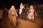 Sutter Creek's annual interfaith Procession of Las Posadas down the side streets and Main Street of Sutter Creek on a winter's evening...Las Posadas symbolizes the trials which Mary and Joseph endured before finding a place to stay where Jesus could be born, based on the passage in the New Testament, the Gospel of Luke, 2:1-9.