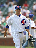 Clay Rapada of the Chicago Cubs vs. the San Diego Padres: June 18th, 2007 at Wrigley Field in Chicago, IL.  Photo copyright Mike Janes Photography 2007.