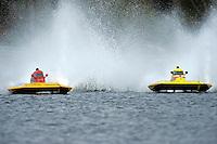 "J. P. Squires, S-83 ""Mega Bucks"" and Jesse Robertson, S-12 ""Liquid Lizard"" (2.5 Litre Stock hydroplane(s)"