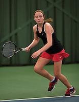 Rotterdam, The Netherlands, March 19, 2016,  TV Victoria, NOJK 14/18 years, Tessa Kwakkernaak (NED)<br /> Photo: Tennisimages/Henk Koster