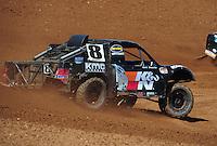 Apr 16, 2011; Surprise, AZ USA; LOORRS driver Kent Brascho during round 3 at Speedworld Off Road Park. Mandatory Credit: Mark J. Rebilas-.