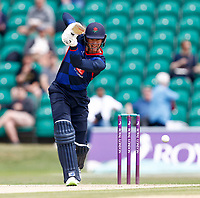Keaton Jennings bats for Kent during Kent Spitfires vs Lancashire, Royal London One-Day Cup Cricket at The Kent County Cricket Ground on 28th July 2021