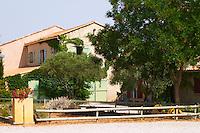 Domaine Mas Jullien, Jonquieres village. Terrasses de Larzac. Languedoc. The main building. France. Europe.