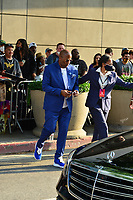 Malcolm D Lee Spotted in Los Angeles