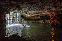 Zip-lining, Explor,  Riviera Maya, Yucatan, Mexico.