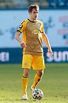 20.02.2021, xtgx, Fussball 3. Liga, FC Hansa Rostock - SV Waldhof Mannheim, v.l. Max Christiansen (Mannheim, 13) Freisteller, Einzelbild, Ganzkoerper, single frame <br /> <br /> (DFL/DFB REGULATIONS PROHIBIT ANY USE OF PHOTOGRAPHS as IMAGE SEQUENCES and/or QUASI-VIDEO)<br /> <br /> Foto © PIX-Sportfotos *** Foto ist honorarpflichtig! *** Auf Anfrage in hoeherer Qualitaet/Aufloesung. Belegexemplar erbeten. Veroeffentlichung ausschliesslich fuer journalistisch-publizistische Zwecke. For editorial use only.