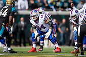 Buffalo Bills guard Richie Incognito (64) during an NFL Wild-Card football game against the Jacksonville Jaguars, Sunday, January 7, 2018, in Jacksonville, Fla.  (Mike Janes Photography)