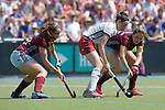 GER - Mannheim, Germany, May 28: During the women final match between Mannheimer HC and UHC Hamburg at the Final4 tournament May 28, 2017 at Am Neckarkanal in Mannheim, Germany. (Photo by Dirk Markgraf / www.265-images.com) *** Local caption ***