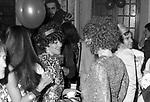 SORAYA ESFANDIARY BAKHTIARI<br /> FESTA PER I 30 ANNI DI HELMUT BERGER JACKIE O' ROMA 1974
