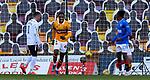 17.01.2021 Motherwell v Rangers: Devante Cole scores for Motherwell