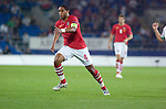 Wales Captain Ashley Williams during the Euro 2010 qualifying match between Wales and Bulgaria at Cardiff City Stadium..