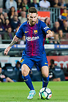 Lionel Andres Messi of FC Barcelona in action during the La Liga 2017-18 match between FC Barcelona and SD Eibar at Camp Nou on 19 September 2017 in Barcelona, Spain. Photo by Vicens Gimenez / Power Sport Images
