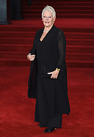 "Dame Judi Dench<br /> at the ""Murder on the Orient Express"" premiere held at the Royal Albert Hall, London<br /> <br /> <br /> ©Ash Knotek  D3344  03/11/2017"