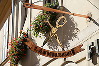 Lachmann signboard - ( Gy?r )  Gyor Hungary