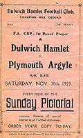 Football 1929-1930