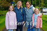 Enjoying a stroll in Muckross Gardens in Killarney on Sunday, l to r: Mia and Dawn Tynan, Heather Connelly and Abbie O'Brien.
