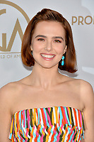 SANTA MONICA, USA. January 18, 2020: Zoey Deutch at the 2020 Producers Guild Awards at the Hollywood Palladium.<br /> Picture: Paul Smith/Featureflash