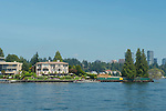 Waterfront Homes with City View