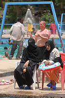 ethiopia, addis abeba, in piscina