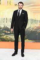 """LONDON, UK. July 30, 2019: Costa Ronin at the UK premiere for """"Once Upon A Time In Hollywood"""" in Leicester Square, London.<br /> Picture: Steve Vas/Featureflash"""