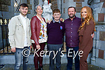 Jack O'Shea former student from Caherleaheen NS at his Confirmation in St Johns Church Tralee on Sunday with his family l to r: Tony Barry, Ann,Jack, Mossie and Leonie O'Shea.