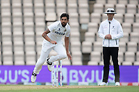 Ishant Sharma, India follows through during India vs New Zealand, ICC World Test Championship Final Cricket at The Hampshire Bowl on 22nd June 2021