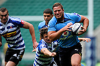 Ruan Steenkamp of Blue Bulls in action during the World Club 7s at Twickenham on Sunday 18th August 2013 (Photo by Rob Munro)
