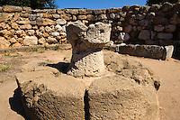Nuraghe Palmavera (Nuraghenzeitzeit 2.Jt.v.Chr.) Alghero, Provinz Sassari, Nord - Sardinien, Italien