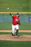 Boyd Vander Kooi plays in the MLB / USA Baseball Prospect Development Pipeline game at Sloan Park on February 5, 2017 in Mesa, Arizona (Bill Mitchell)