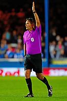 28th August 2021; Weston Homes Stadium, Peterborough, Cambridgeshire, England; EFL Championship football, Peterborough United versus West Bromwich Albion; Referee James Linington
