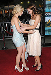 Dana Fox & Kristen Bell at The Universal Pictures Premiere of Couples Retreat held at The Village Theatre in Westwood, California on October 05,2009                                                                   Copyright 2009 DVS / RockinExposures