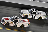 2017 Camping World Truck - NextEra Energy Resources 250<br /> Daytona International Speedway, Daytona Beach, FL USA<br /> Friday 24 February 2017<br /> Timothy Peters and Brett Moffitt<br /> World Copyright: Nigel Kinrade/LAT Images<br /> ref: Digital Image 17DAY2nk09983