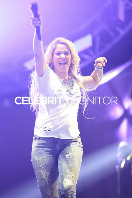 CARSON, CA, USA - MAY 10: Shakira performs at 102.7 KIIS FM's 2014 Wango Tango at StubHub Center on May 10, 2014 in Carson, California, United States. (Photo by Xavier Collin/Celebrity Monitor)