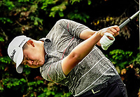 Joshua Bai. Day one of the Brian Green Property Group NZ Super 6s Manawatu at Manawatu Golf Club in Palmerston North, New Zealand on Thursday, 25 February 2021. Photo: Dave Lintott / lintottphoto.co.nz