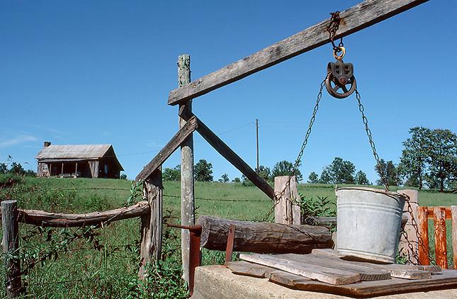 Old well on farm