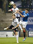 Darren McGregor launching an attack