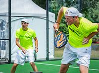 Den Bosch, Netherlands, 16 June, 2018, Tennis, Libema Open, Semifinal Doubles Padel<br /> Photo: Henk Koster/tennisimages.com
