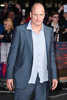 """Woody Harrelson<br /> arriving for the London Film Festival 2017 closing gala of """"Three Billboards"""" at Odeon Leicester Square, London<br /> <br /> <br /> ©Ash Knotek  D3337  15/10/2017"""