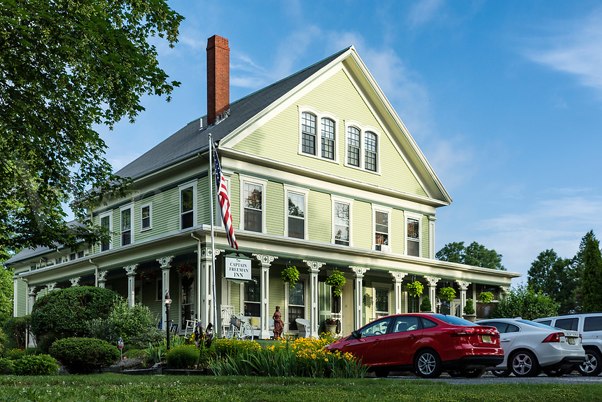 Captain Freeman Inn, Brewster, Cape Cod, Massachusetts, USA.