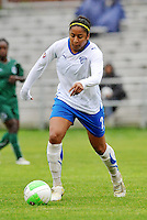 Chioma Igwe...Saint Louis Athletica  tied 1-1 with Boston Breakers at Anheuser-Busch Soccer Park, Fenton, MO.