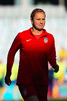 Gothenburg, Sweden - Thursday June 08, 2017: Lindsey Horan prior to an international friendly match between the women's national teams of Sweden (SWE) and the United States (USA) at Gamla Ullevi Stadium.