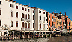 Old building along the Grand Canal, Venice, Italy