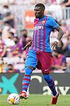 FC Barcelona's Emerson Royal during La Liga match. August 29, 2021. (ALTERPHOTOS/Acero)