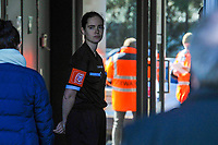 referee Irmgard Van Meirevenne pictured before a female soccer game between  AA Gent Ladies and RSC Anderlecht on the 17th matchday of the 2020 - 2021 season of Belgian Scooore Womens Super League , saturday 20 th of March 2021 in Oostakker , Belgium . PHOTO SPORTPIX.BE | SPP | STIJN AUDOOREN