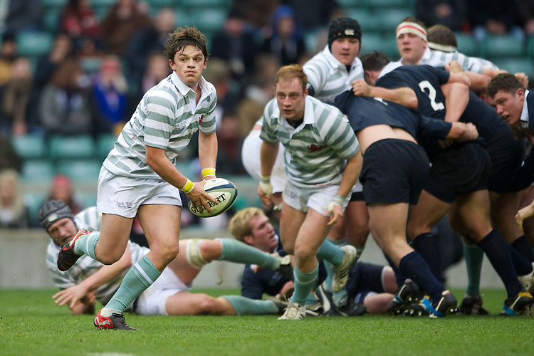 Seb Tullie of Cambridge University in action during the 131st Varsity Match between Oxford University and Cambridge University at Twickenham on Thursday 06 December 2012 (Photo by Rob Munro)