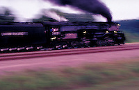 World's largest Steam Locomotive Challenger 3985. Houston Texas USA.